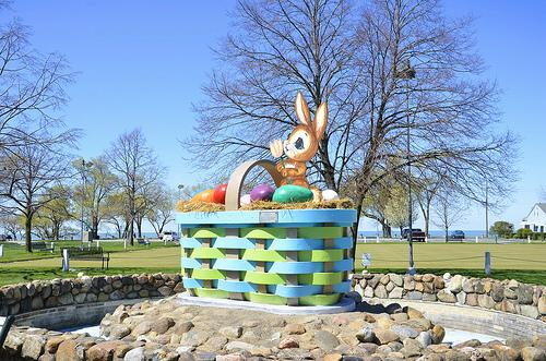 Lakeview Park Easter Basket, Lorain, Ohio
