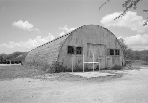 Typical Quonset hut building, Naval Air Station Barbers Point, Hawaii