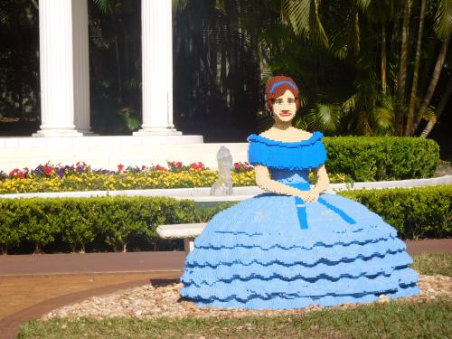 Lego Southern Belle at Cypress Gardens, Winter Haven, Florida
