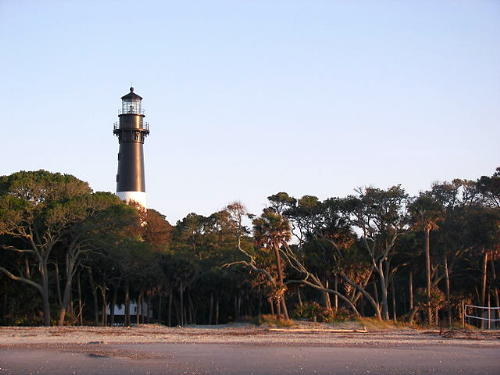 Lighthouse at Hunting Island State Park, South Carolina