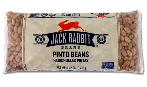 Jack Rabbit Pinto Beans package