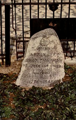 Grave of Johnny Appleseed (John Chapman), Fort Wayne, Indiana