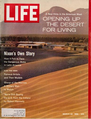 Life Magazine, March 23, 1962 issue cover