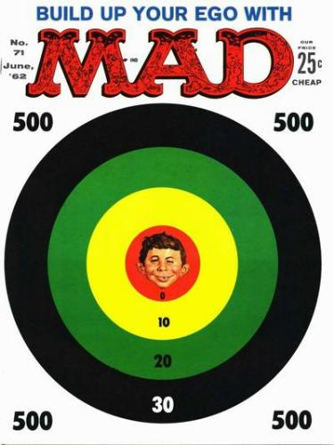 MAD magazine, June 1962 issue cover