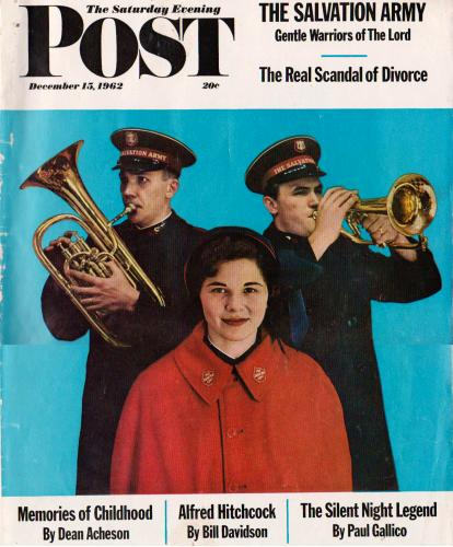 Saturday Evening Post magazine, December 15, 1962 issue cover