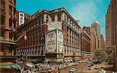 Macy's Department Store, New York City, postcard circa 1962
