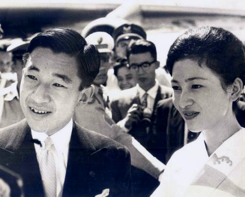 Japanese Crown Prince Akihito and Crown Princess Michiko, in Philippines, 1962