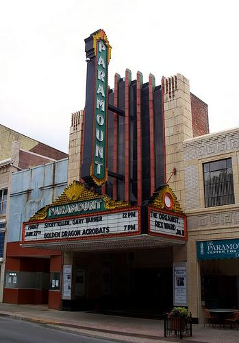 Paramount Center for the Arts, Bristol, Tenessee-Virginia