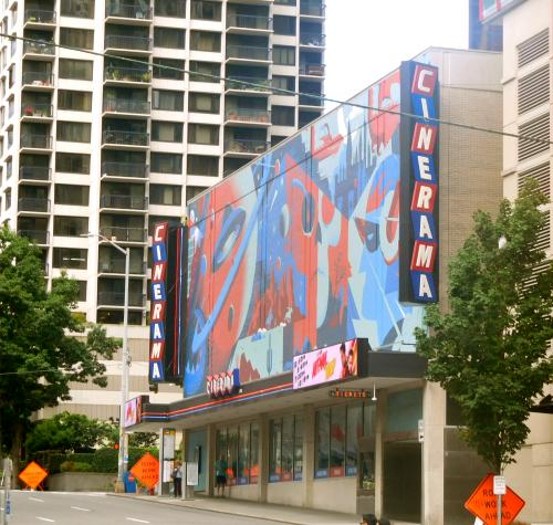 Surviving Cinerama Theater, Seattle, Washington, 2018