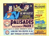 Palisades Park coupon from comic book