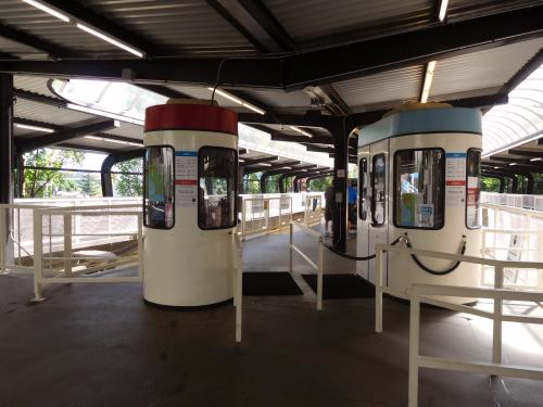 Seattle Center Monorail ticket booths