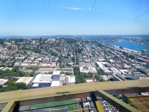 View from Space Needle looking north